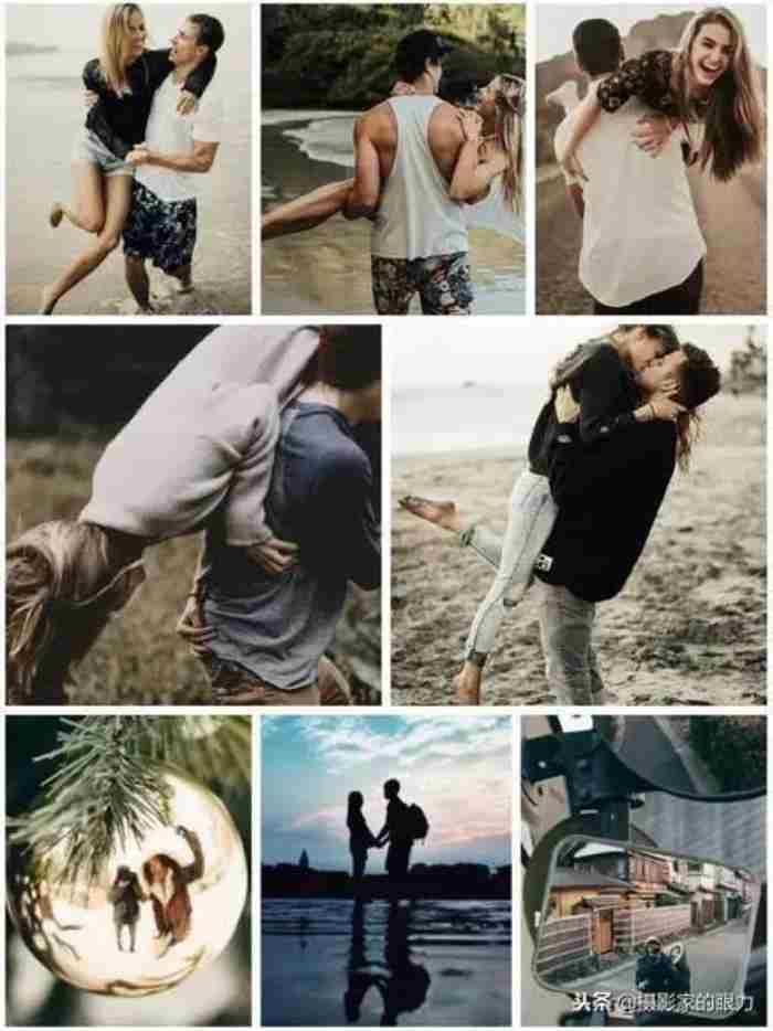 情侣姿势大全摆法(21种情侣拍照姿势大全)