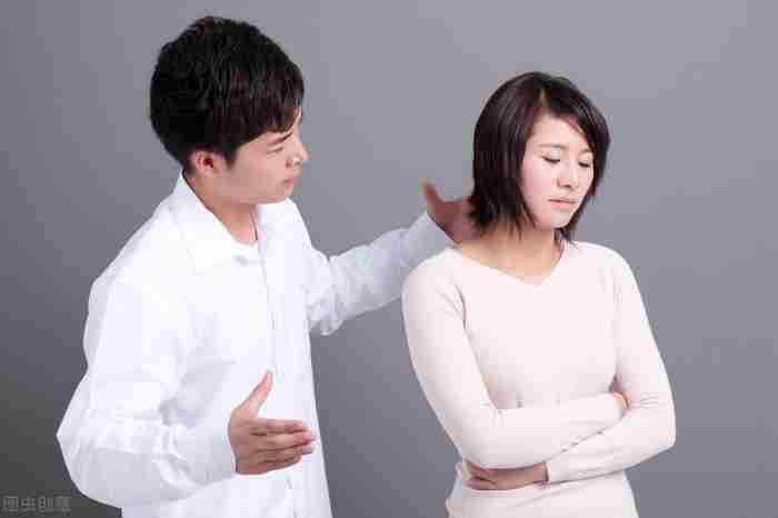 男女朋友吵架(情侣吵架了怎么解决)